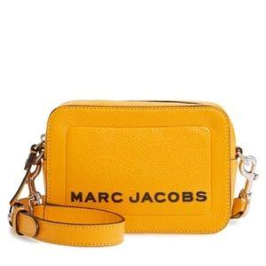 Marc Jacobs bold gold crossbody